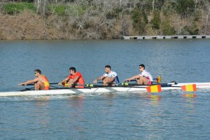 4-LM (Javier Ordoñez, Ismael Montes, Jaime Canalejo y Jon Carazo)
