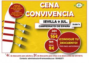 CARTEL A5 Cena Cto España
